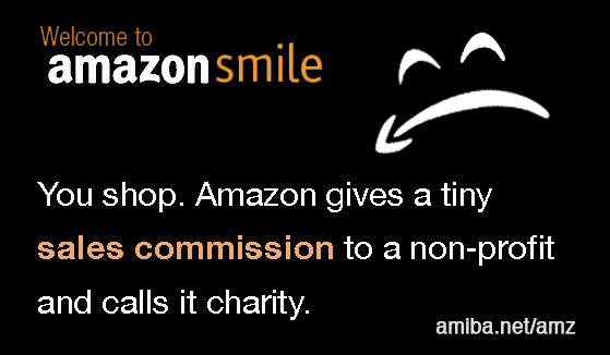 Money Leaves Your Community, Amazon Smiles